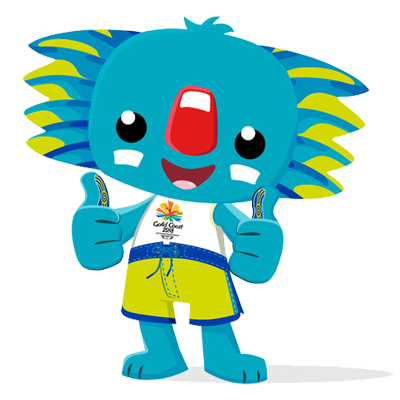 Borobi mascot of the 2018 Gold Coast Commonwealth Games