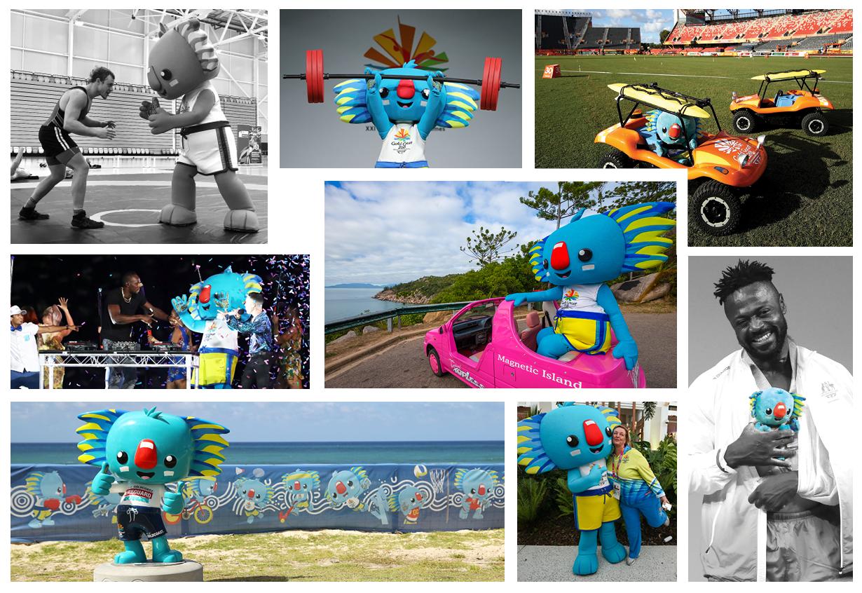 borobi commonwealth games 2018 mascot